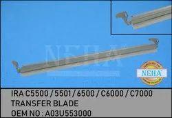 Transfer Blade  OEM No A03u553000