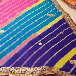 Mixed HANDLOOM Traditional Sarees, 6.3 m (with blouse piece)