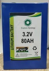 3.2V 80AH Lithium Ion Battery