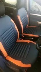 Black Pu Leather SEAT COVERS