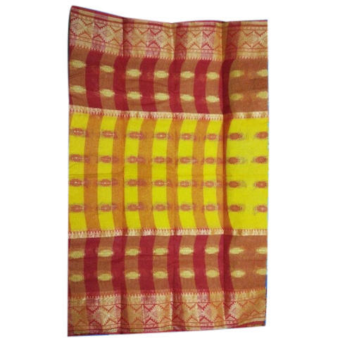 Cotton Ladies Saree with Blouse Piece, Length : 5.2 m