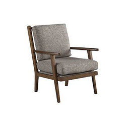 Grey Wooden Chair
