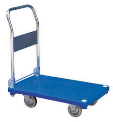 Stainless Steel Platform Trolley, Load Capacity: 200-250 Kg