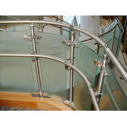 Floor Mounted Railing