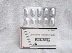 Lornoxicam 8 mg   PCM 325 mg