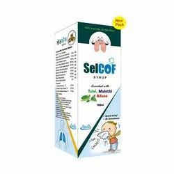 100 ml Selcof Syrup, For Cough
