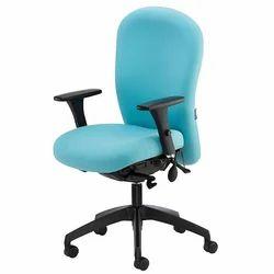 Medium Back Office Sky Blue Chair
