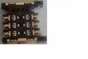 6 Pin Micro Push Pull Sim Card Connector