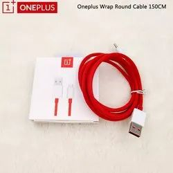 USB Electric One Plus Wrap Charge C Type Cable, For Mobile Phone, Cable Size: 150 Cm