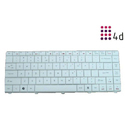 White Acer Emachine Laptop Keyboard