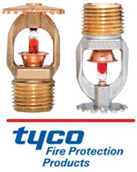 Tyco Sprinkler K8 (115 ) Fire Sprinkler Pendent, Upright UL Listed / FM Approved