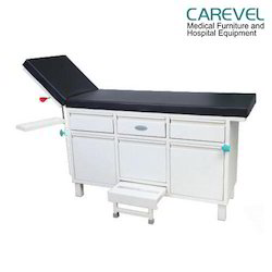 Carevel Standard Examination Couch With Cabinet