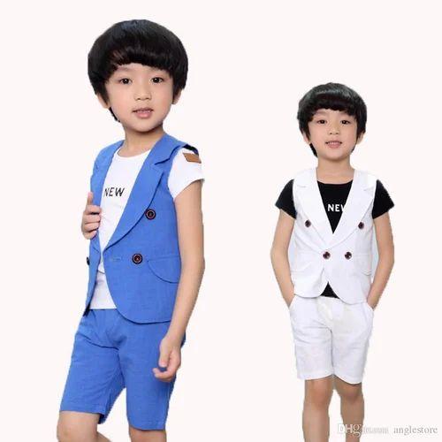 d7a3bd6ed Boys Casual Wear Kids Party Wear Suit