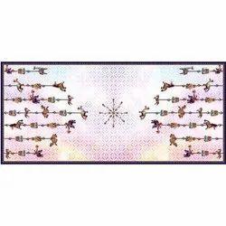 Polyester Digital Printed Dupatta Fabrics