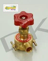 3/8 Brass LPG Adapter 25 mm For Indane, Bharat, HP
