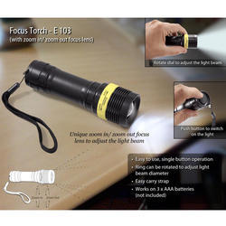 Power Plus Focus Torch (with Zoom In/zoom Out)