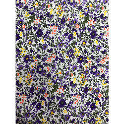Printed Flower Fabric