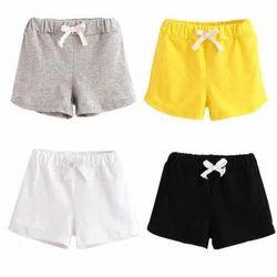 Girl Baby Cotton Shorts
