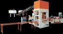 Fbp - 2500 10 Bricks Per Stroke Fly Ash Bricks Machine, 31 Hp/ 23.25 Kw