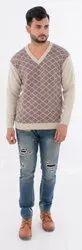 Acrylic Male Men's Woollen Sweater