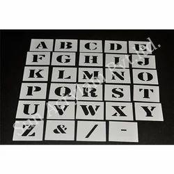 Alphabet Stencil Flexible