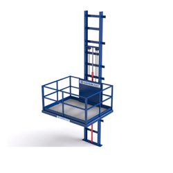 Hydraulic Goods Lift, Capacity: 1-5 Ton