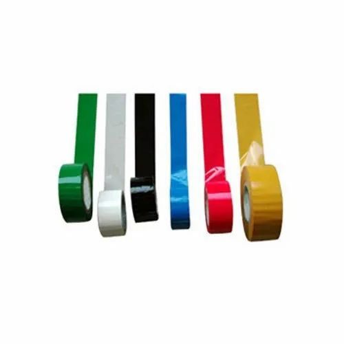 Rainbow 65m 1 Inch Colored BOPP Tapes, For Packaging