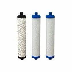 White Polypropylene RO Filter Cartridges, Packaging Type: Box