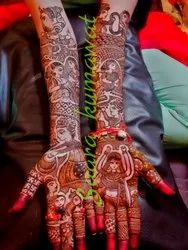 Women Bridal mehndi