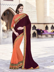 Latest Synthetic Surat Saree