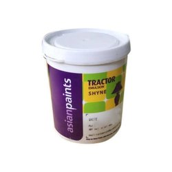 High Gloss White Asian Paint Tractor Emulsion Shyne, For Interior, Packaging Type: Bucket