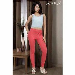 Aesa Cotton Lycra Churidar Leggings