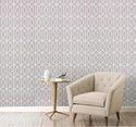 Geometric Patterned Wallpaper