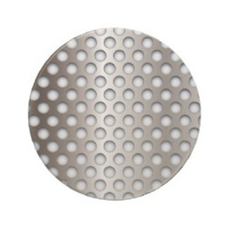 Square Hole Perforated Circles