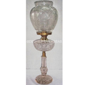 Deshilp Overseas More Color Available Clear Crystal Oil Lamp