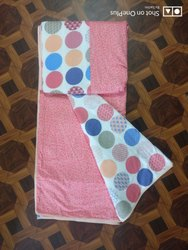 Cambric Pure Cotton Double Dohar AC Blanket