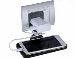 Phone Holder With Electric Socket