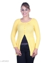 Ladies Yellow Designer Top