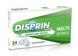 Disprin Melts On Tongue Tablet