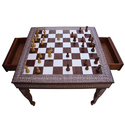 Square Chess with Drawer
