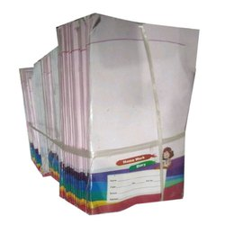 Single Line Writing School Register, Paper Size: A4