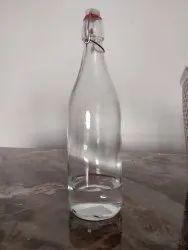 Clear Glass Water Bottle, Size: 1000ml
