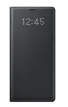 half off 29866 6b5e1 Black Galaxy Note8 LED View Cover, Samsung Smart Cafe | ID: 18924173355