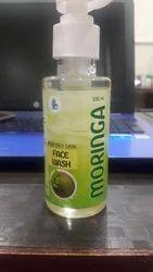 Herbal Herbasia Moringa Facewash, Gel, Age Group: Adults