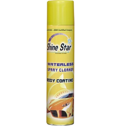 Waterless Spray Cleaner & Polish With Foam Base