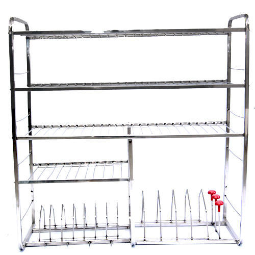 stainless steel kitchen stand at rs 145 /piece | stainless steel