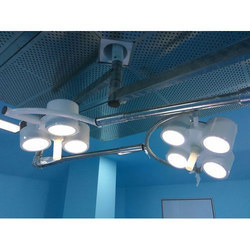 2 Dome Ceiling Mounted OT Light