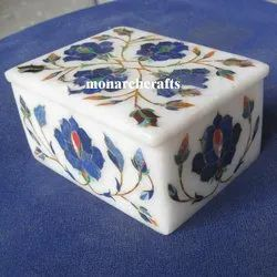 Monarch Crafts Marble Decorative Jewelry Boxes
