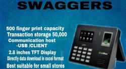 Swaggers Attendance Machine