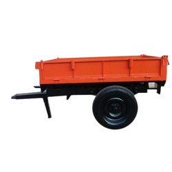 2 Ton Capacity Hydraulic Tipping Trailer